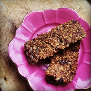 Good morning Sunshine bars – Vegan, Wheat-free, sugar-free, butter-free and delicious (promise)!!